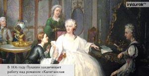 Александр Сергеевич Пушкин. Историческая повесть «Капитанская дочка»