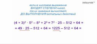 Степень числа. Квадрат и куб числа