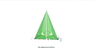 Пирамида, боковые грани которой образуют равные углы с плоскостью основания