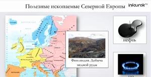 Регионы Европы. Северная и Средняя Европа