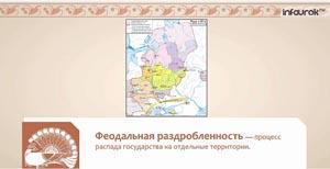 Политическая раздробленность Руси в XII-XIII веках